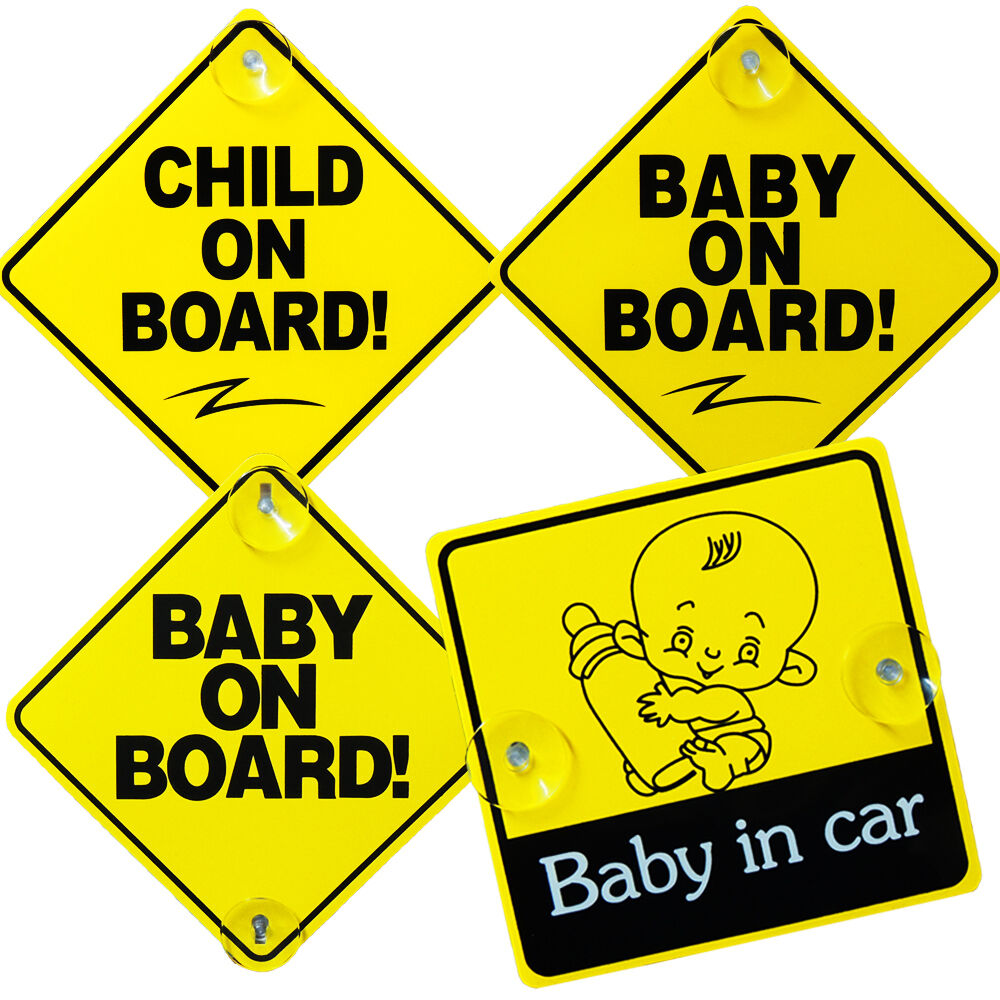 Baby On Board Child Safety With Suction Cups Car Vehicle. Cake Banners. Food Coupons. Pisces Logo. Knowledge Murals. Water Banners. Olympiad Banners. Vintage Sale Stickers. Geography Signs