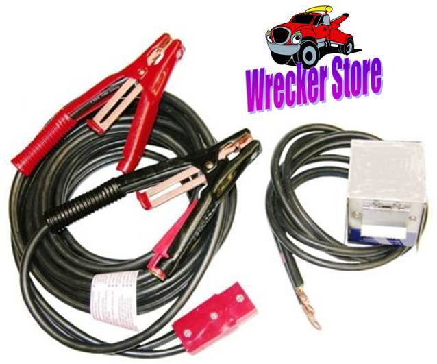 Jumper Booster Cables Wrecker Tow Truck Aaa Road