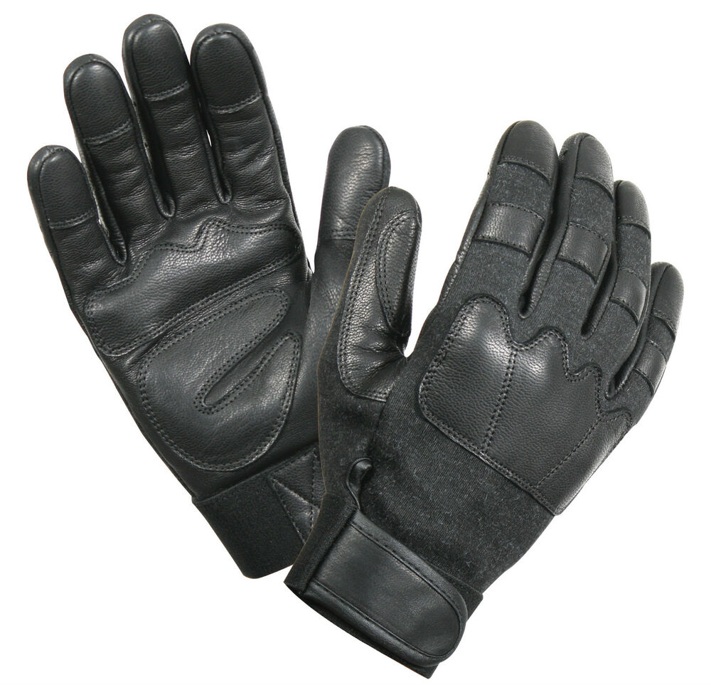 Leather Cut Resistant Tactical Gloves