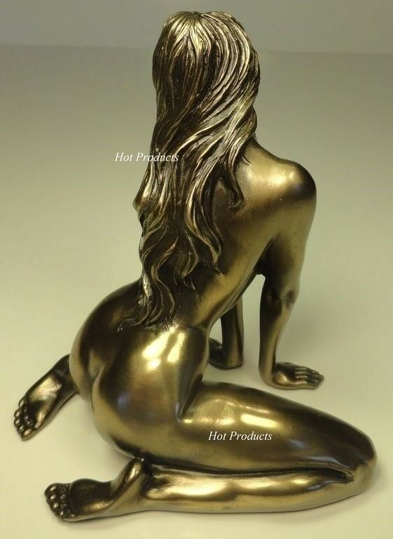 Nude Female Sexy Lady Statue Erotic Woman Figurine -3259