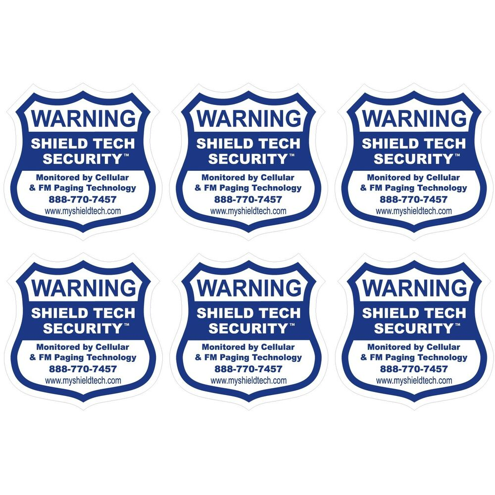 6 BACK ADHESIVE DECALS FOR GARAGE DOORS REAL OR FAKE