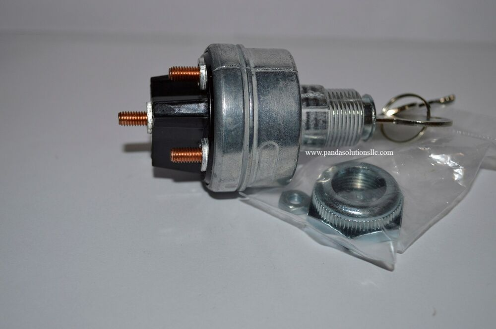 Hyster Forklift Parts 3001111 Or 3001111r Ignition Switch With 2ea Keys