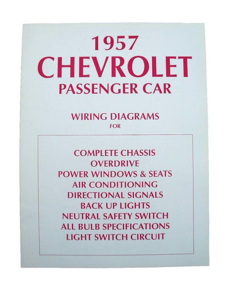 57 Chevy Wiring Diagram 1957 Chevrolet | eBay