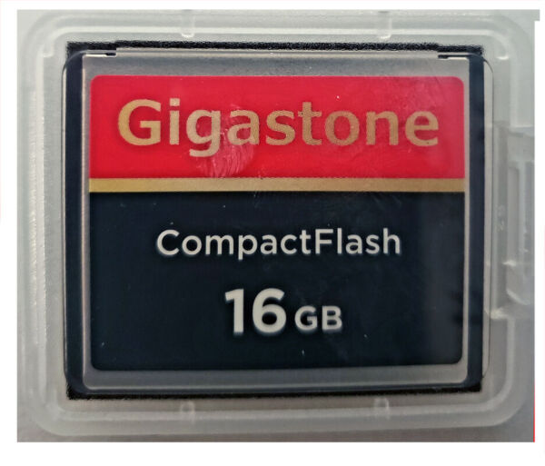 16GB Compact Flash Memory Card for Sony ALPHA A200 A350 400