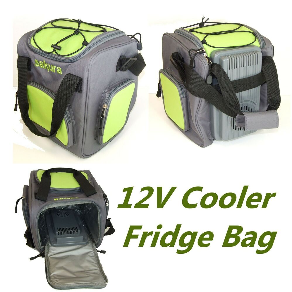 12v Insulated Electric Cooler Cool Bag 14l Food Drink