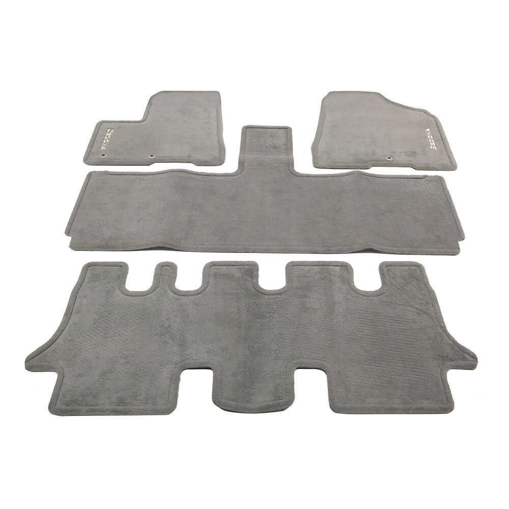 Oem New Carpet Floor Mats Set 4 Piece Biege 2006 2014 Kia