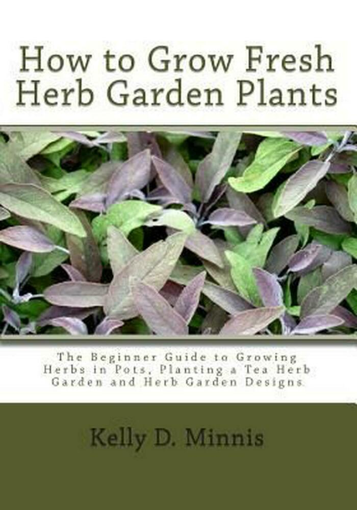 how to grow fresh herb garden plants the beginner guide to growing herbs in pot 1452833702 ebay. Black Bedroom Furniture Sets. Home Design Ideas