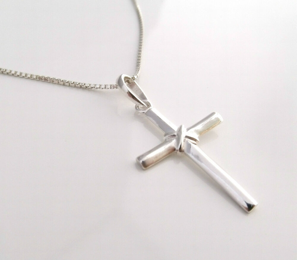 funky 925 sterling silver cross pendant with 18 silver. Black Bedroom Furniture Sets. Home Design Ideas