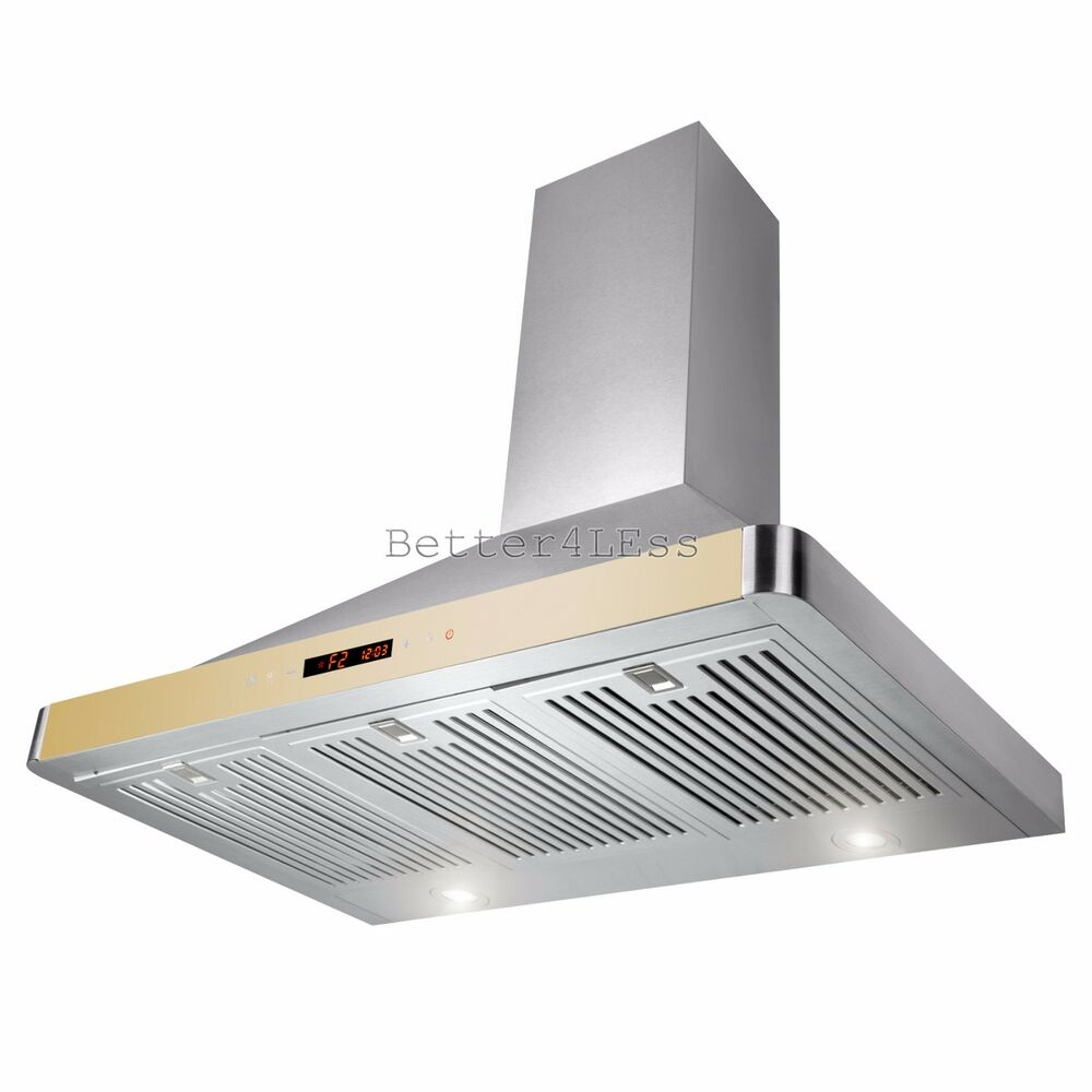 Stove Vent Hoods ~ Quot wall mount stainless steel kitchen range hood stove