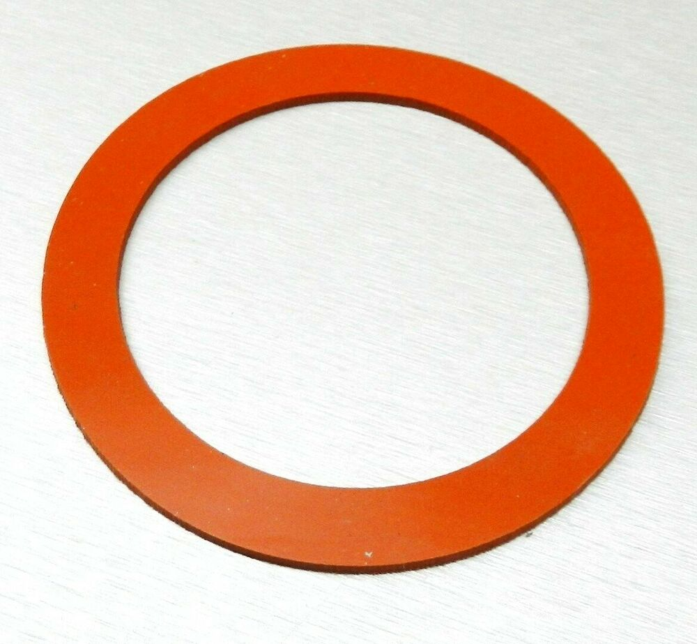 Silicone rubber gasket for quot vacuum perforated flasks