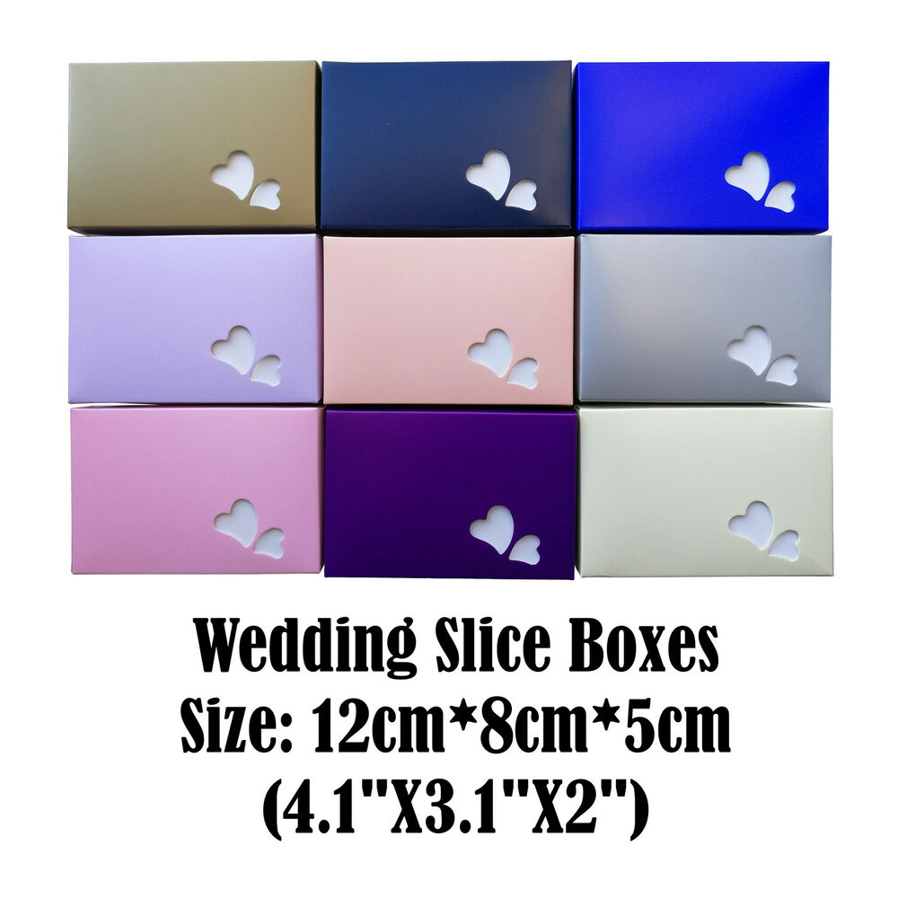 wedding cake slice boxes uk 10 wedding cake slice boxes gift boxes favour boxes 24906