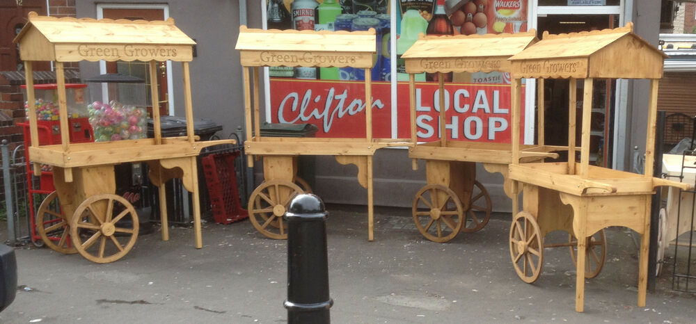 Old Fashioned Ice Cream Cart For Sale