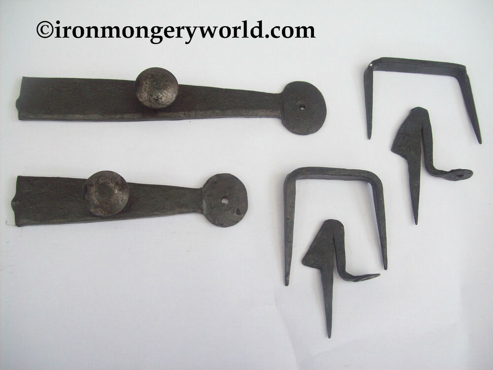 Hand Made Forged Blacksmith Black Antique Wrought Iron