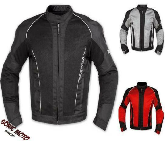 CE Armour Mesh Summer Tex Jacket Apparel Motorcycle Textile Sonicmoto All Sizes eBay