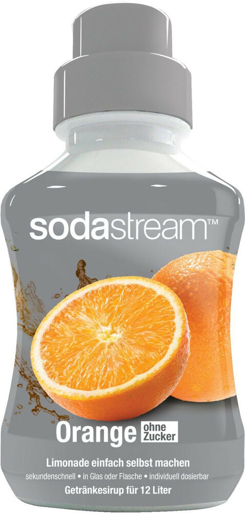 8 58 l sodastream orange ohne zucker konzentrat sirup 500ml getr nkesirup ebay. Black Bedroom Furniture Sets. Home Design Ideas