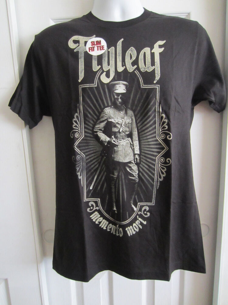Hot Topic: Flyleaf Memento Mori Slim-Fit T-Shirt