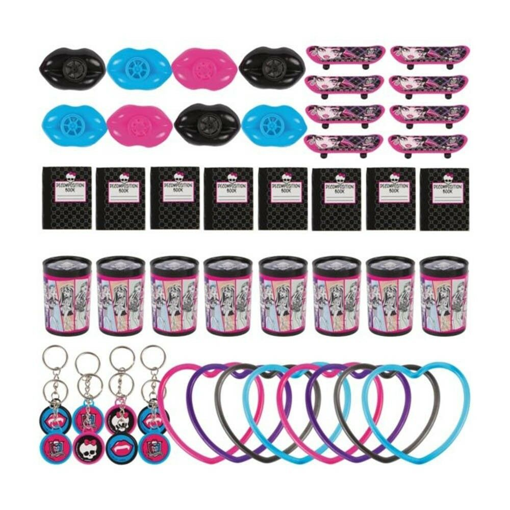 48 piece monster high birthday party loot treat favor pack ebay