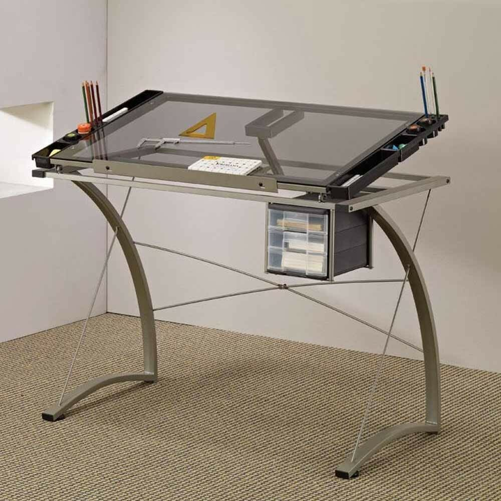 Home Office Handy Drafting Artist Computer Drawing Working Table Desk