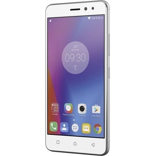 lenovo k6 android smartphone silver 16gb lte dual sim. Black Bedroom Furniture Sets. Home Design Ideas