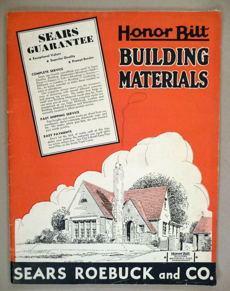 Sears Building Materials Catalog 1934 Ebay