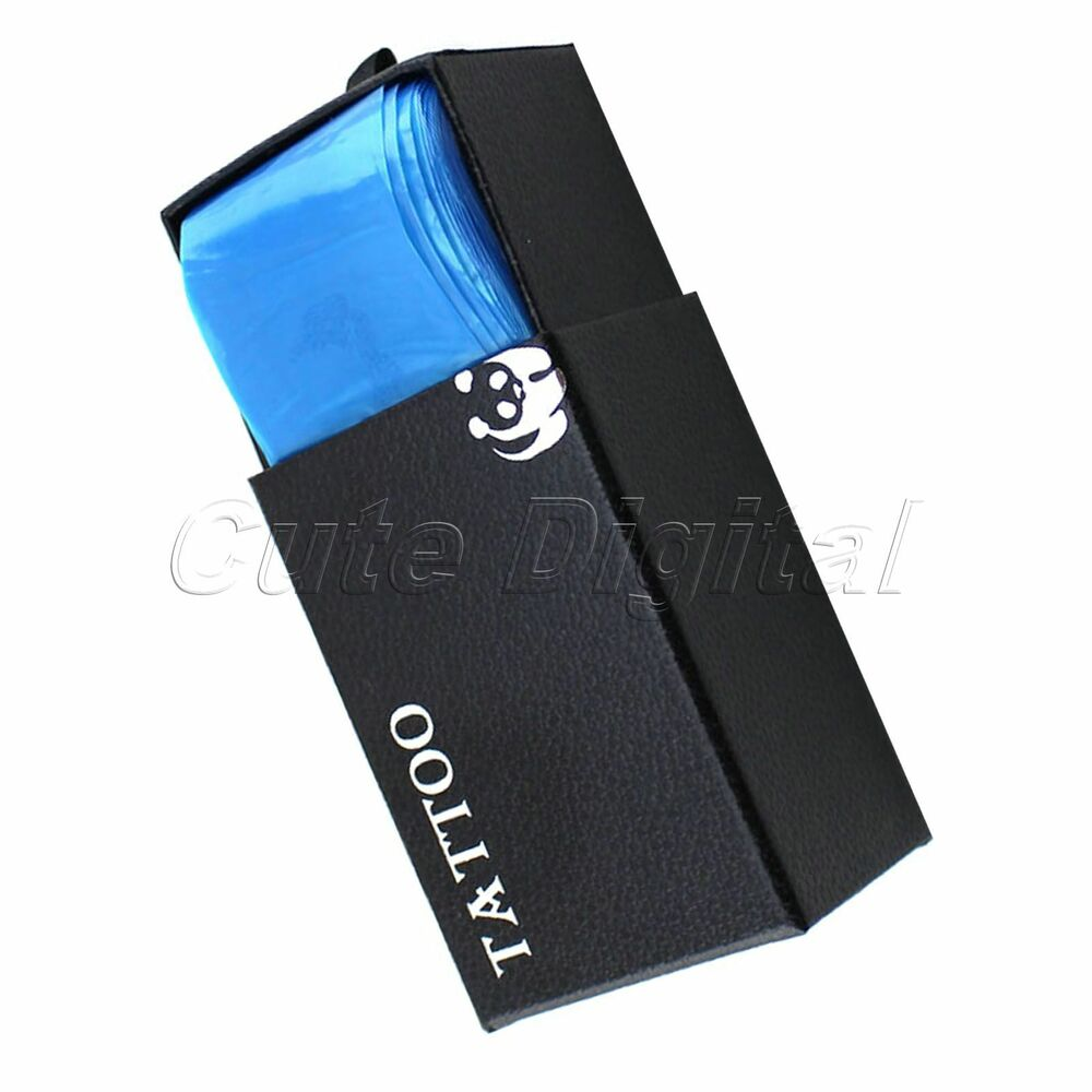 100pcs pro tattoo machine safety disposable hygiene clip cord cover sleeve bags ebay. Black Bedroom Furniture Sets. Home Design Ideas