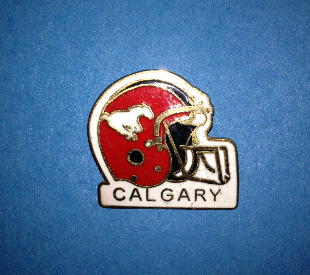 Calgary Stampeders Cfl Canadian Football Collectors Lapel