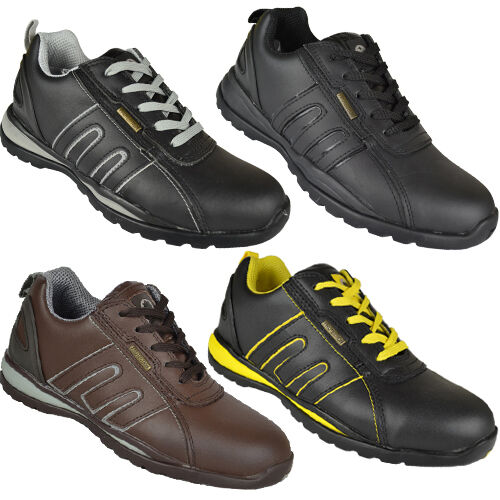 Mens Safety Trainers Shoes Boot Work Steel Toe Cap Hiker