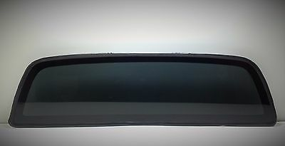 Fits: 2005-2018 Toyota Tacoma Pick Up  Rear Window Back Glass Dark Tinted