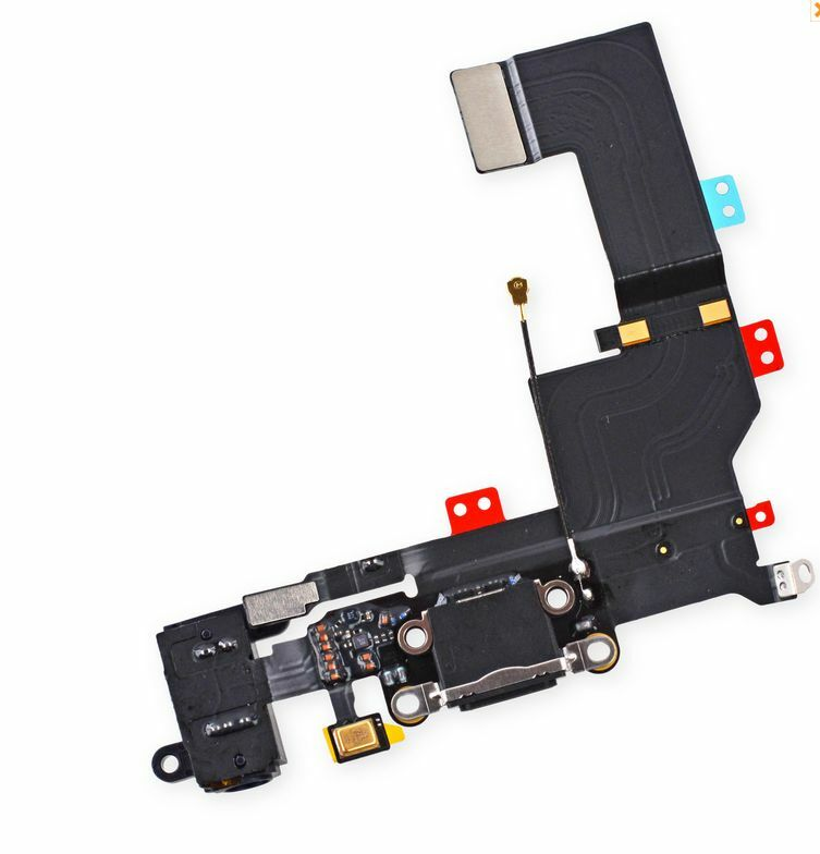 iphone 5s charging port replacement oem charging port dock connector headphone mic flex 4994