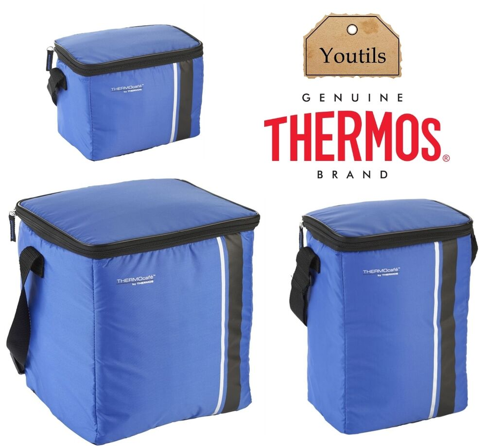 thermos insulated cooler cool bag cool box camping food. Black Bedroom Furniture Sets. Home Design Ideas