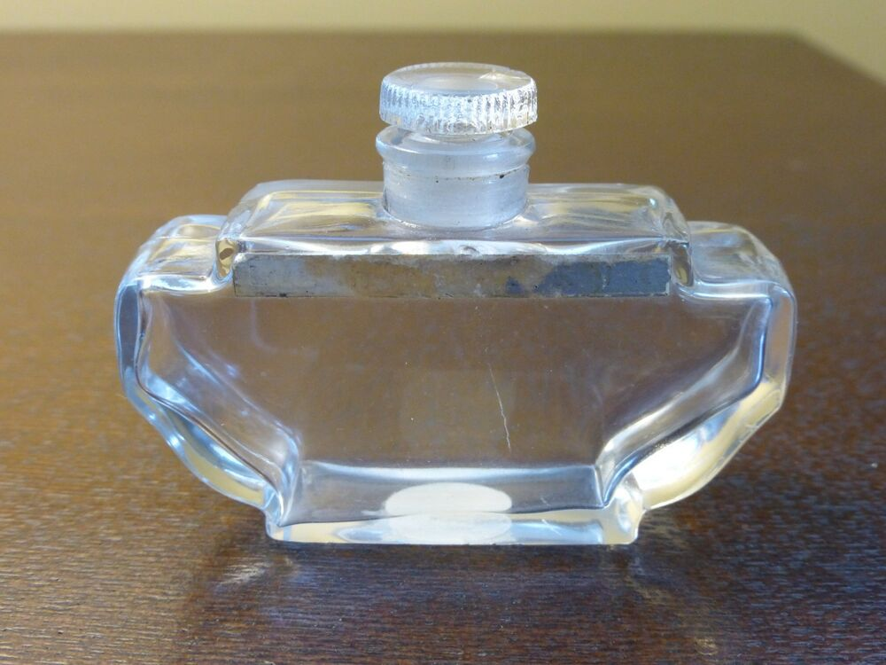 Vintage Shanghai Lentheric Collectible Perfume Bottle With