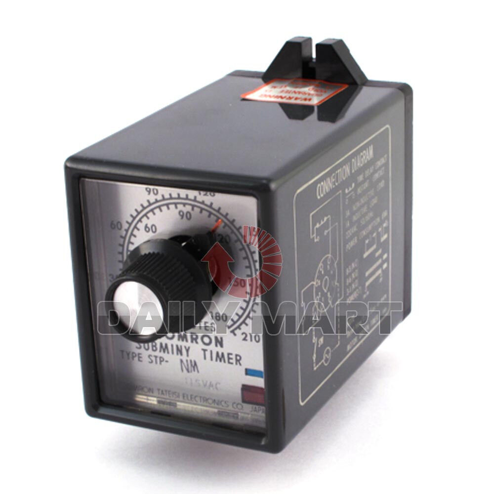 Omron New Stp 60hz Time Delay Relay