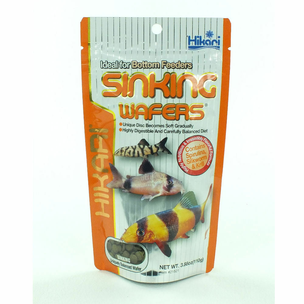 Hikari tropical aquarium fish food sinking wafers ebay for Hikari fish food
