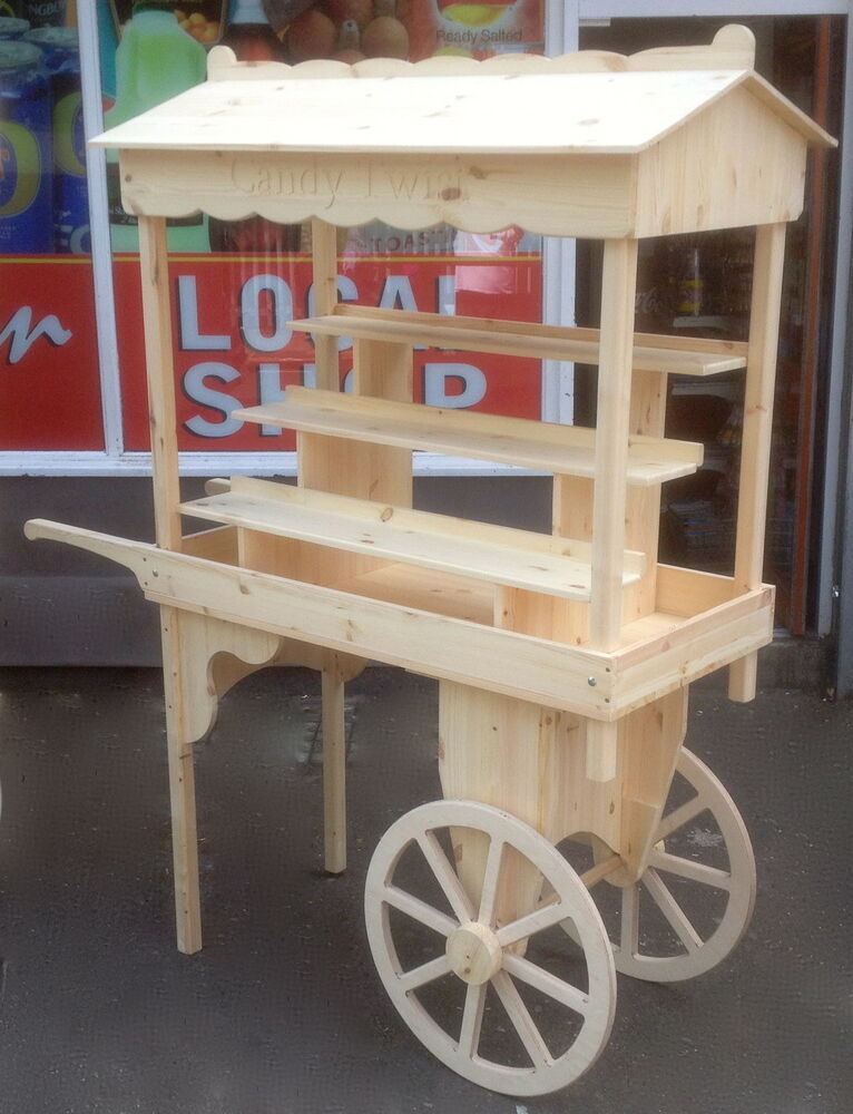 Market Barrow Car Boot Sales Display Wedding Candy Cart