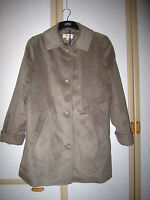 M&S Classic Collection Mink Beige Soft Touch Coat Size 16 BNWT