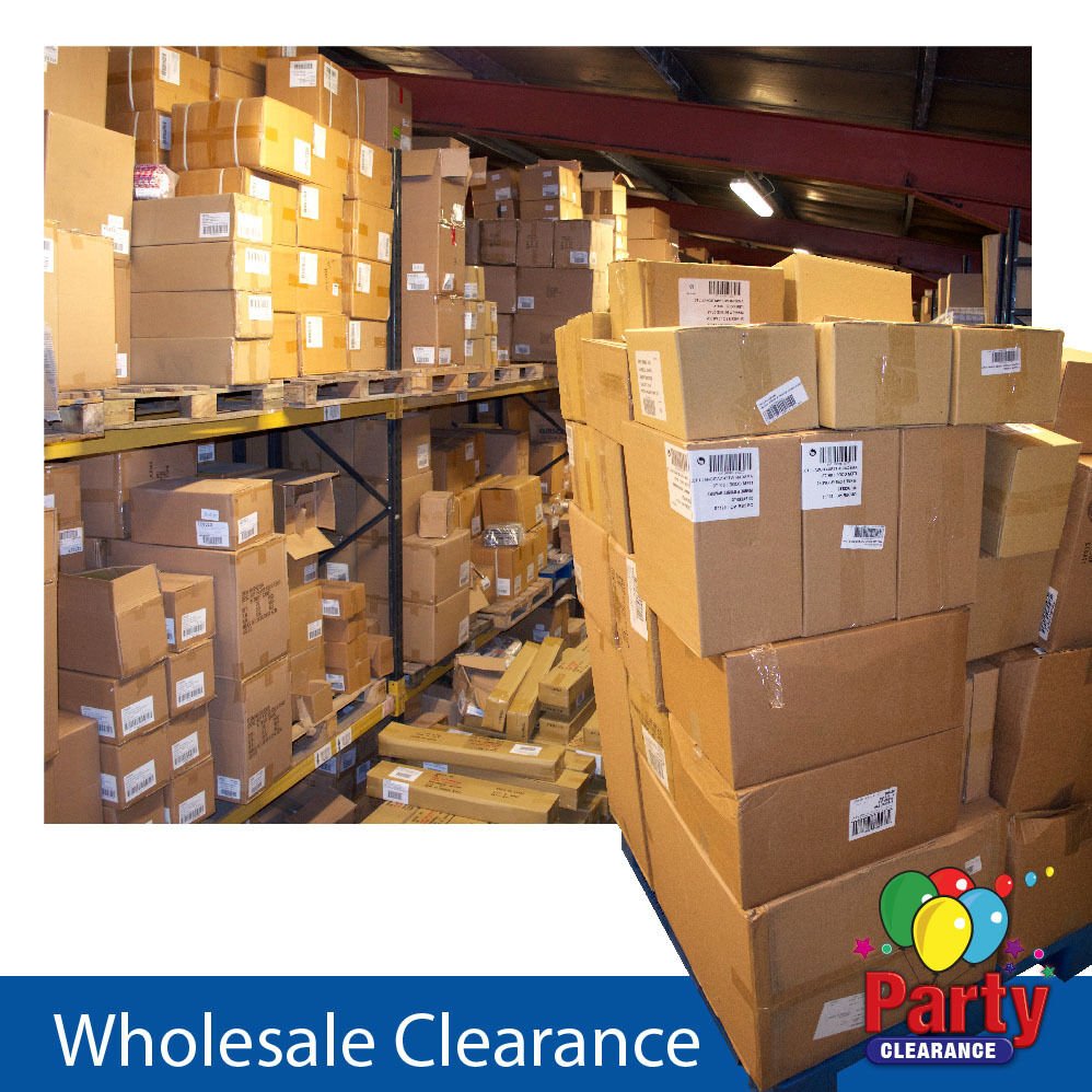 Wholesale Clearance Boxes Approximately 100 Assorted Party