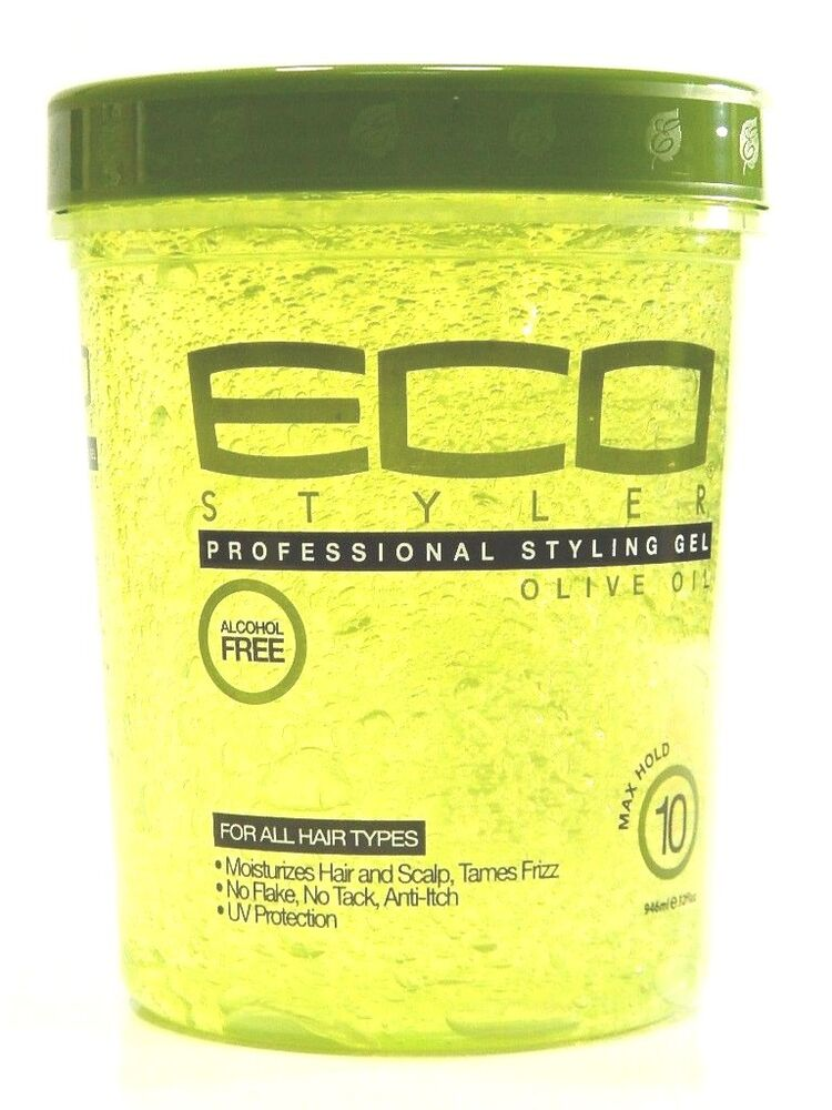 eco styling gel on hair eco olive styling gel 10 max hold 32 oz ebay 4340