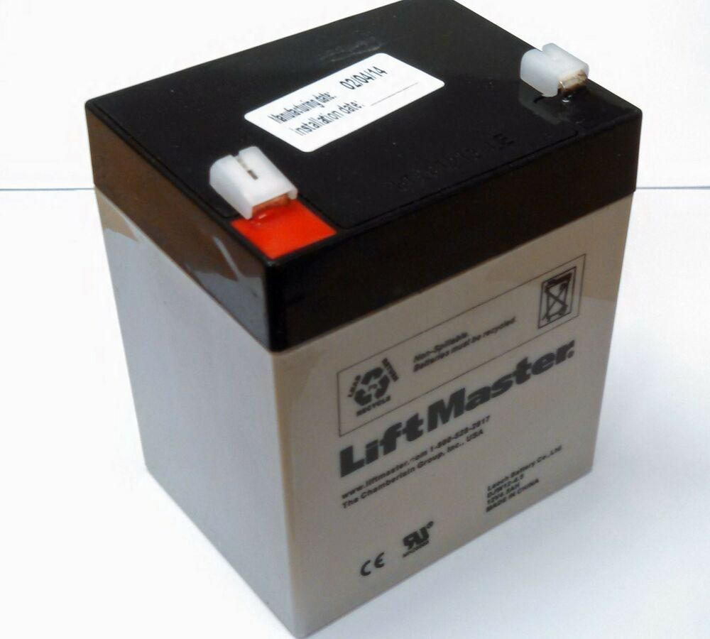 Garage door battery replacement shop chamberlain for 12v battery garage door opener