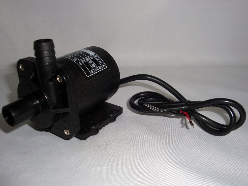 12volt Dc Submersible Water Fountain Pump 145gph 10 Lift