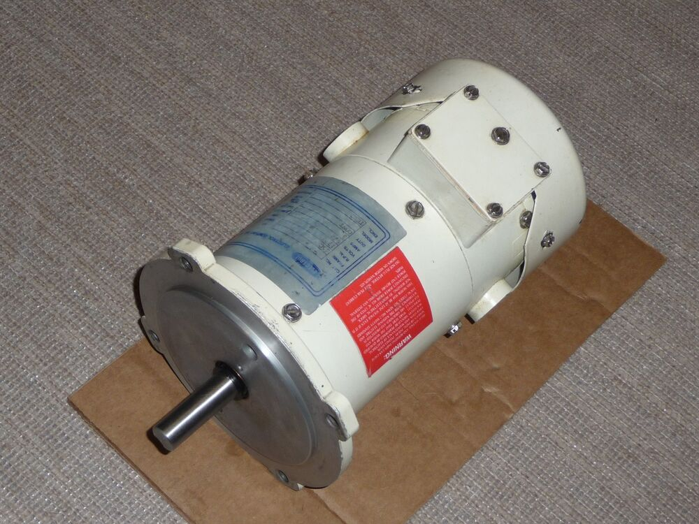 Electrol dc motor md 203 1 4 hp 1725 rpm 56c 90 vdc for 90 volt dc motor