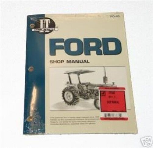ford 2810 2910 3910 i t tractor shop repair manual fo43 ebay ford 2910 service manual pdf Ford 2910 Specifications