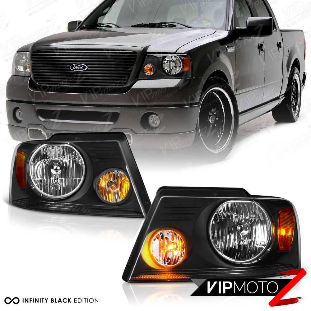 2004 2008 Ford F150 Quot Factory Style Quot Back Headlights