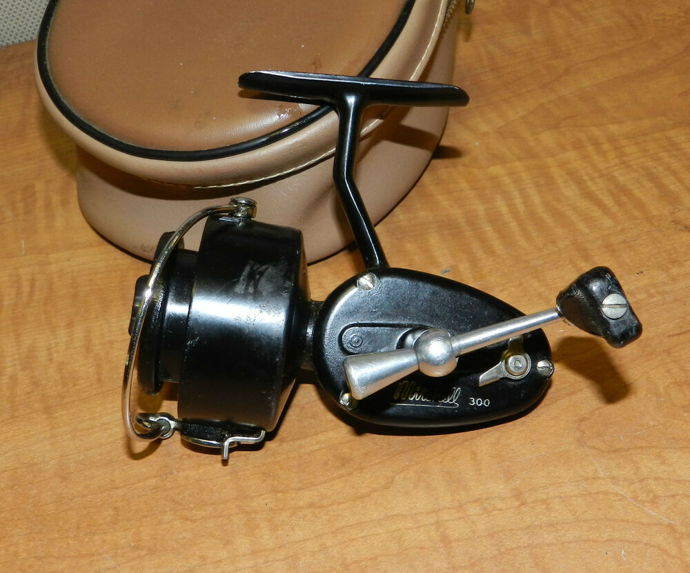 6277 vintage mitchell 300 garcia fishing reel in soft for Old mitchell fishing reels