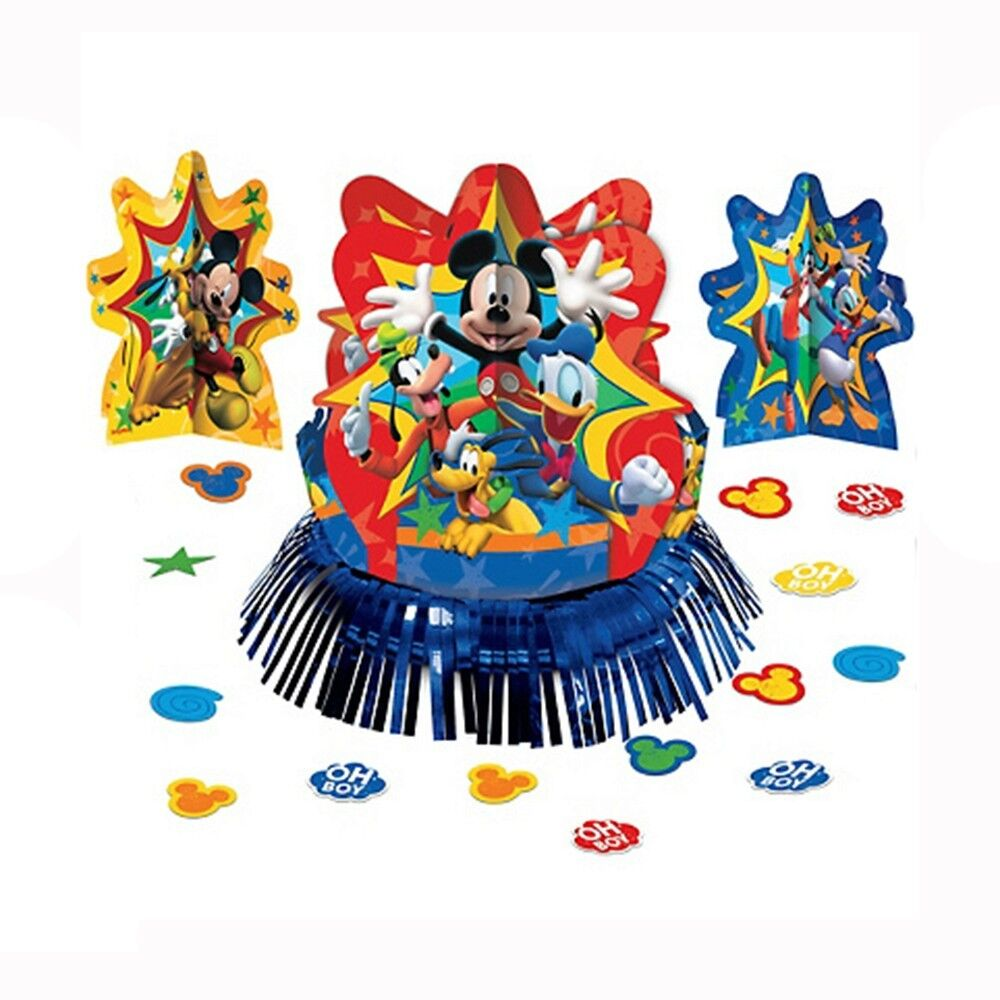 23pc Disney Mickey Mouse Birthday Party Table Centerpiece