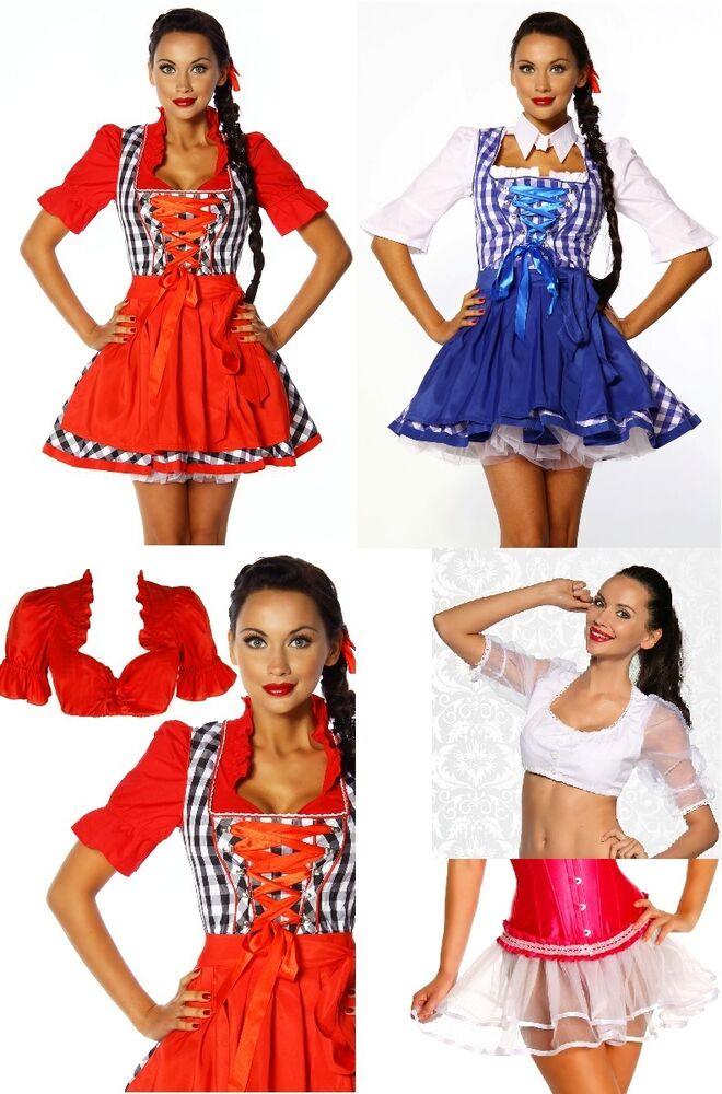 sexy damen dirndl wiesn outfit oktoberfest fasching. Black Bedroom Furniture Sets. Home Design Ideas
