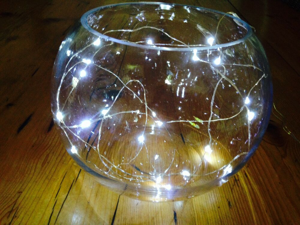 Led String Lights For Centerpieces : 20 LED SUBMERSIBLE BATTERY STRING LIGHT 2m BRIGHT LIGHT WEDDING CENTREPIECE UK eBay