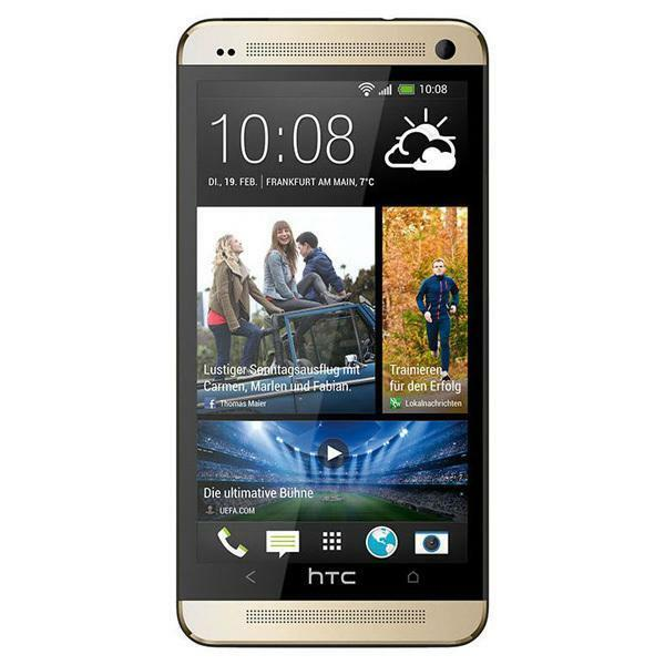 htc one m7 32gb gold smartphone ohne simlock bester. Black Bedroom Furniture Sets. Home Design Ideas