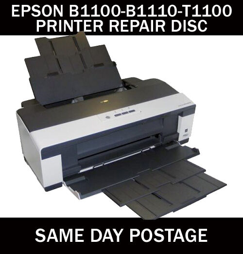 epson stylus b1100 b1110 t1100 reset service inkpad error disc ebay. Black Bedroom Furniture Sets. Home Design Ideas
