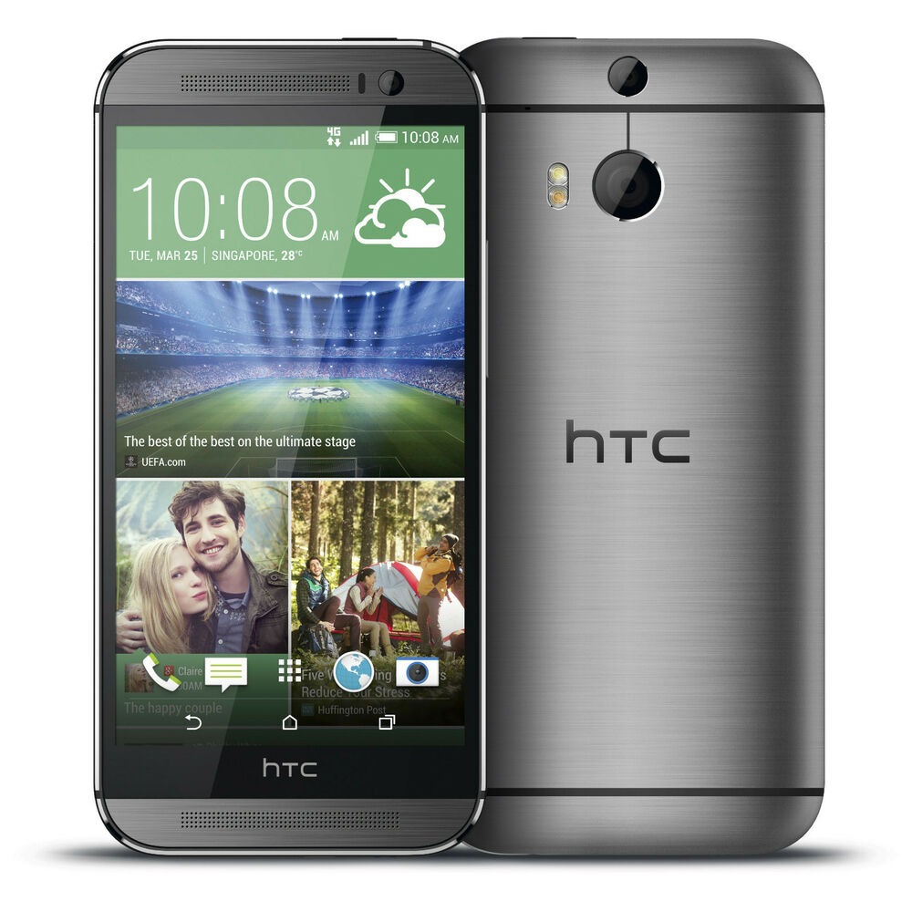 HTC One M8 4G LTE 32GB Gray (AT&T OEM Unlocked) GSM Smartphone Android Phone FRB 821793040123 | eBay