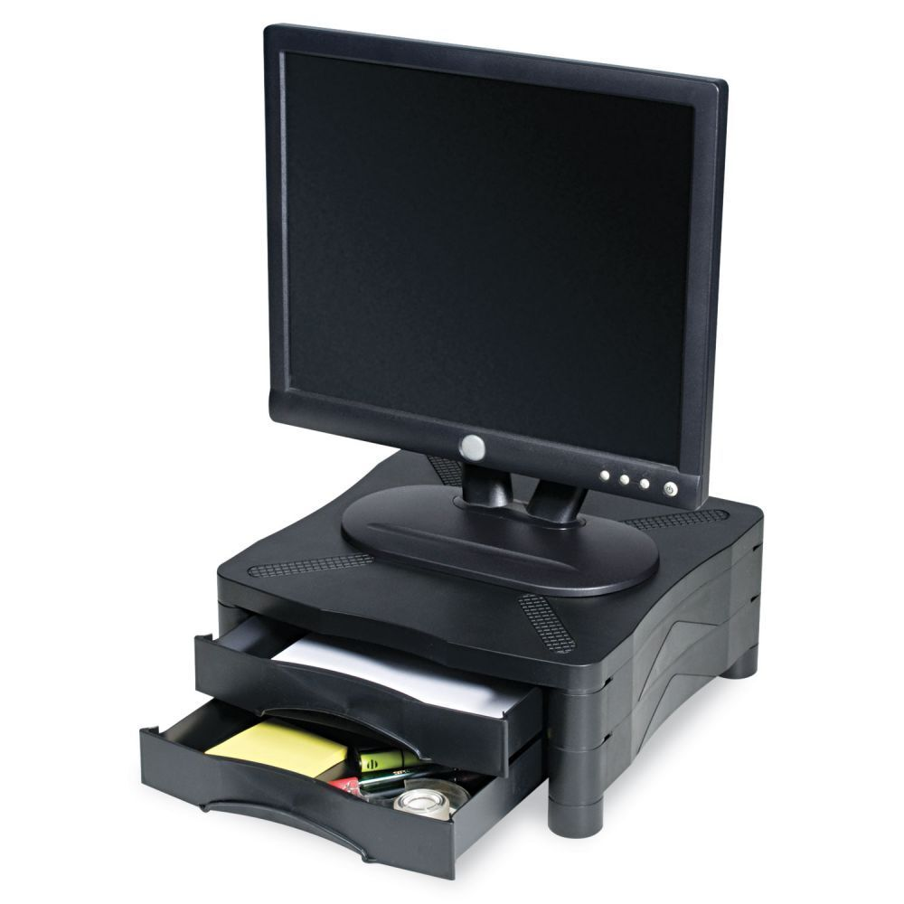 Kelly Computer Supply Monitor Printer Stand W 2 Drawers 13
